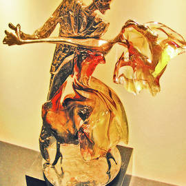Andy Za - Dirty Dancing, Gold and glass.