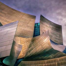 Disney Concert Hall At Dusk by Endre Balogh