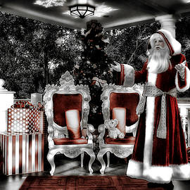 Disney World Holiday Times With Old World Santa SC by Thomas Woolworth