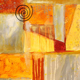 Distractions 2 Abstract Painting by Nancy Merkle