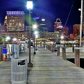 Frozen in Time Fine Art Photography - On the Docks in Baltimore