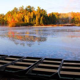 Michael Rucker - Dock of the Tahquamenon River