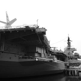 Docking Marvels USS MIDWAY by Joseph Pechsiri