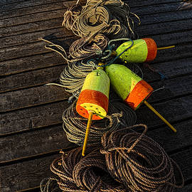 Dockside Still Life by Marty Saccone