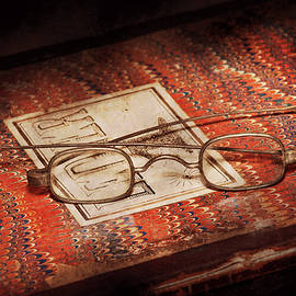 Doctor - Optician - Reading glasses by Mike Savad