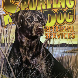 Reid Callaway - Dog Gone Hunting Mancave Art