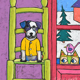 David Hinds - Dog in the chair