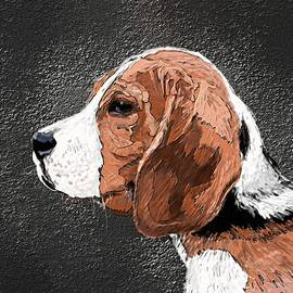 Dog by Nesrin Gulistan