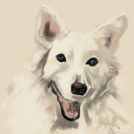 Dog Olaf by Go Van Kampen