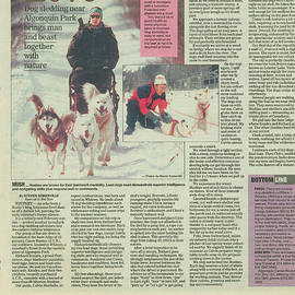 Dogsledding Travel Article Toronto Sun by Steve Somerville