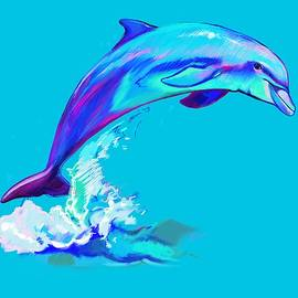 Dolphin in Colors