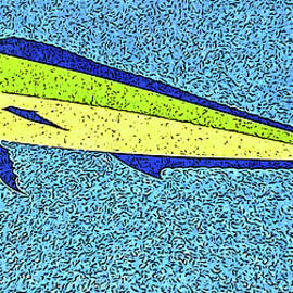 Marian Bell - Dolphinfish on a Sunny Day
