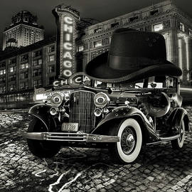 Don Cadillacchio Black and White by Marian Voicu