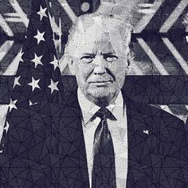 President Donald Trump by Celestial Images