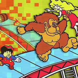 Donkey Kong Arcade by Ivan Florentino Ramirez