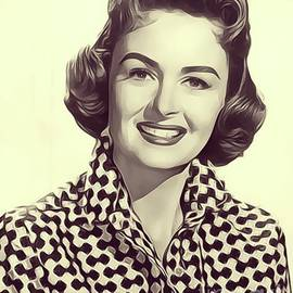 Donna Reed, Vintage Actress - John Springfield