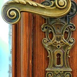 Door Handle by Herb Paynter