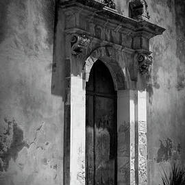 Door on Old Church in Sicily, Italy by A Cappellari