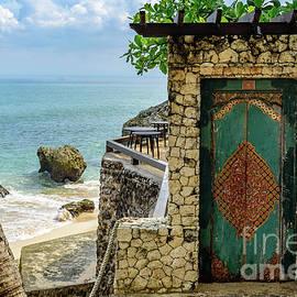 Door To The Bali Beach, Jimbaran by Global Light Photography - Nicole Leffer