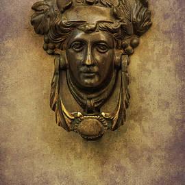 Doorknob With Woman Head by Jaroslaw Blaminsky