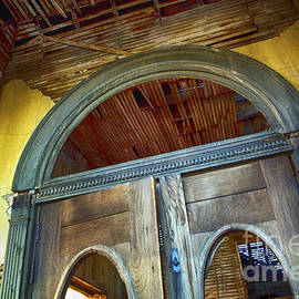 Doorway Jerome Arizona by Bob Christopher