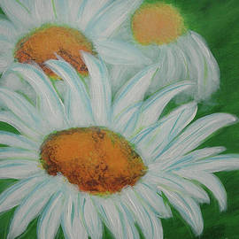 Double Daisies by Kathy Carlson
