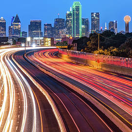 Gregory Ballos - Downtown Dallas Texas City Skyline at Dawn