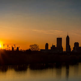 Downtown Indianapolis Sunrise