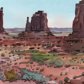 Donald Maier - Downtown Monument Valley