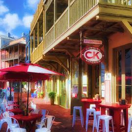 Downtown Rosemary Beach Florida # 2 by Mel Steinhauer