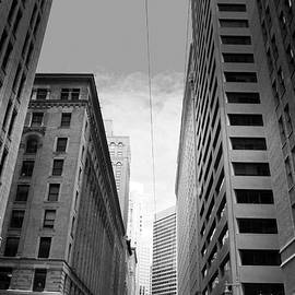 Matt Harang - Downtown San Francisco Street View - black and White