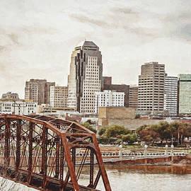 Scott Pellegrin - Downtown Shreveport - digital painting