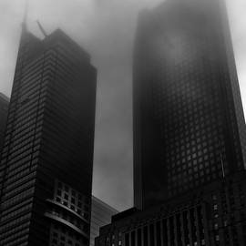 Downtown Toronto Fogfest No 2 by Brian Carson