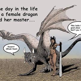 Solomon Barroa - Dragon and Master Comic Illustration 1