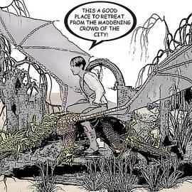 Solomon Barroa - Dragon and Master Comic Illustration 2