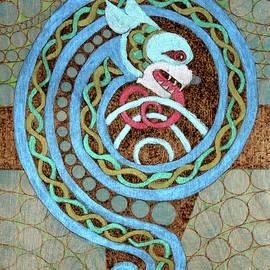 Dragon And The Circles by David Yocum