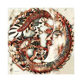 Scott Wallace - Dragon Moon Illustration