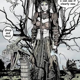 Solomon Barroa - Dragon Queen Comic Illustration 1