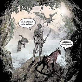 Solomon Barroa - Dragon World Comic Illustration