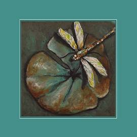 Kimberly Benedict - Dragonfly Lily Pad