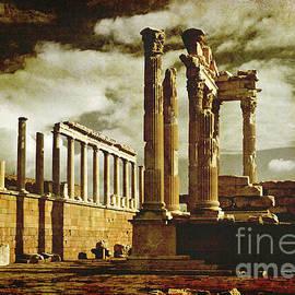 Drama at The Acropolis by Liz Alderdice