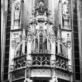 Carol Groenen - Dramatic Gothic Church - Black and White