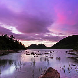 Juergen Roth - Dramatic Sunset at Jordan Pond