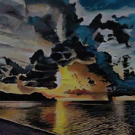 Bill Dunkley - Dramatic Sunset Seascape