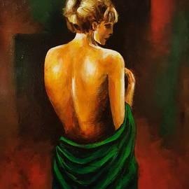 Draped in Green by Stuart Glazer
