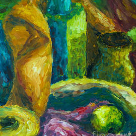 Drapes And Shapes by Angelique Bowman