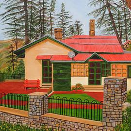 Dream House in Shimla by Ajay Harit