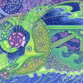 Dream of the fullmoon by Julia Khoroshikh