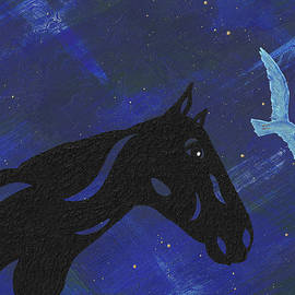 Dreaming Horse by Manuel Sueess
