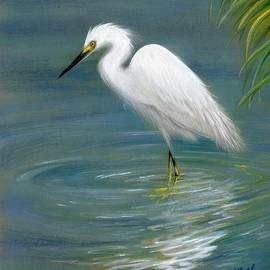 Heather Mitchell - Dreamy Egret